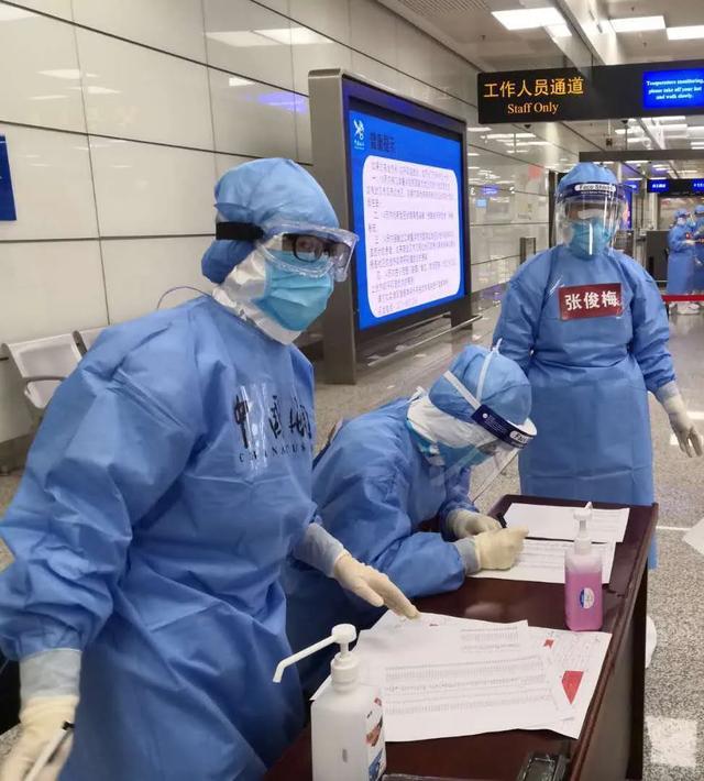 严防境外输入!河南省人民医院工作队协助海关的奋战与坚守