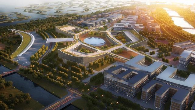 【长丰县长新职业技能培训学校】我国首所康复大学主体封顶