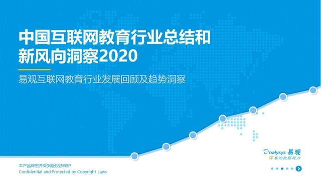 【护理专业技能高考培训班】2020中国互联网教育行业总结和新风向洞察