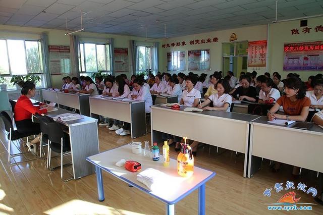 临泽二幼举行卫生保健知识及突发事件应急能力培训