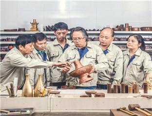 国家级技能大师开展技术培训