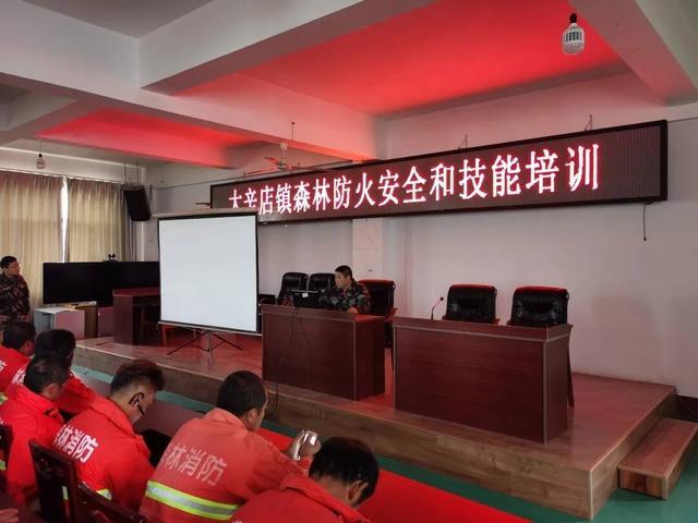 大辛店镇召开森林防火安全和技能培训