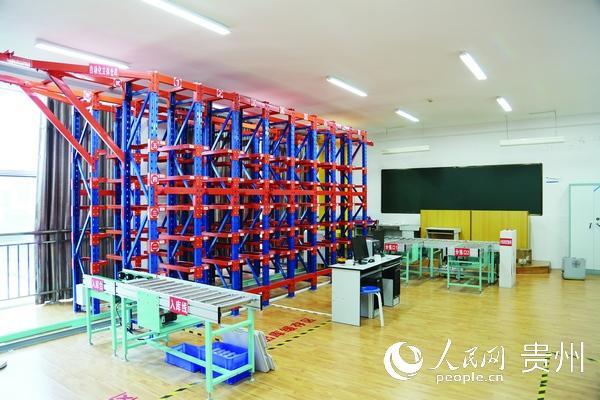 贵阳职业技术学院:推进基础设施建设 打造优质教学环境