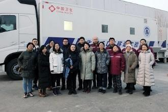 【成都筑新职业技能培训学校】北京市疾病预防控制中心开展P2+移动实验室人机结合操作培训演练
