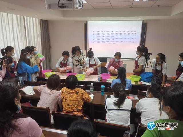 提升就业技能!九江免费培训家政职业技能,69人参加