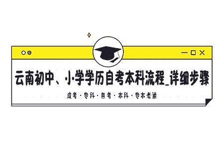 【技能大师在线培训平台 搜狐】云南初中、小学学历自考本科流程_详细步骤