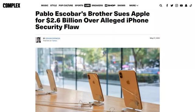 某毒枭勒索苹果26亿,因为iPhone泄露他的行踪招来暗杀...