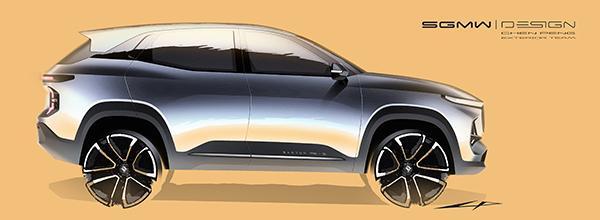 新宝骏RS-3官图曝光 预计将于10月上市