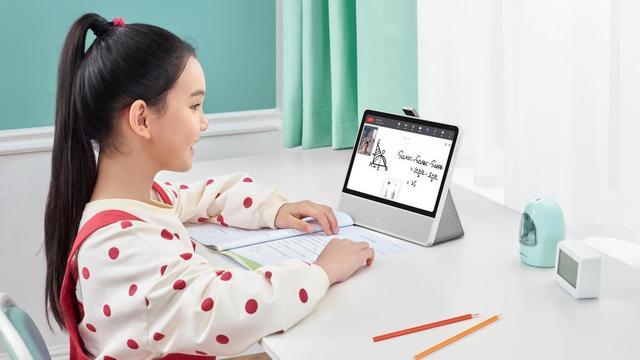 孩子秒变自主学习高手,华为小精灵学习智慧屏正式发布