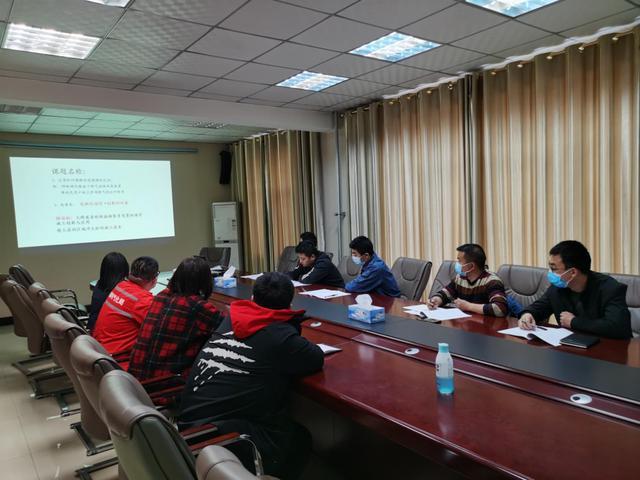 科技公司组织QC骨干线上培训
