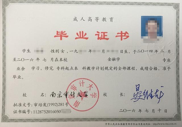 【长丰县长新职业技能培训学校】南京审计大学2019年成人高考(专科\\本科)招生