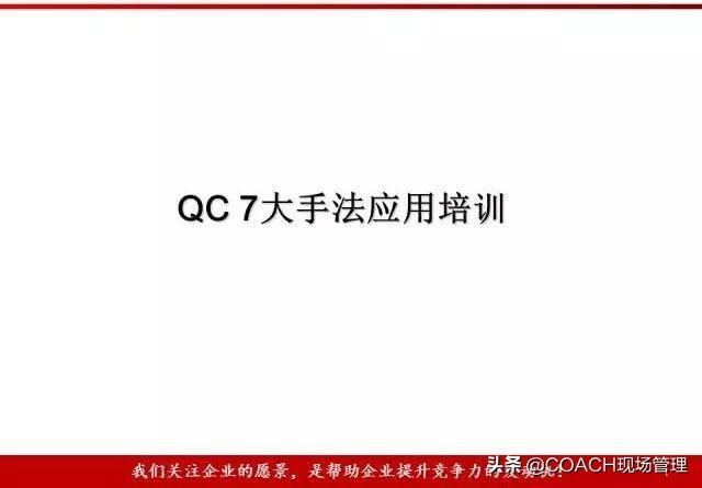 2020404干货Qc 7大手法实战培训教材