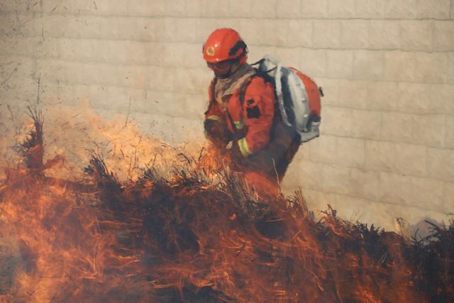 """巴州森林消防支队:练兵与战""""疫""""两不误"""