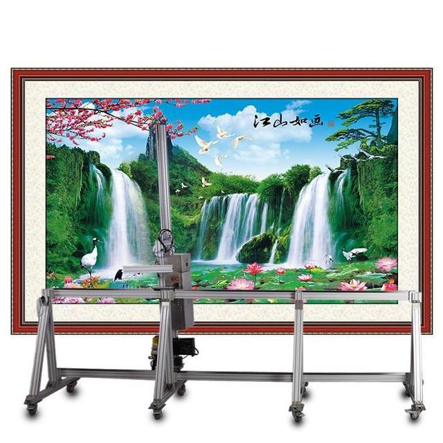 墙体彩绘机