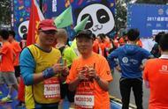 公益助残|视障选手挑战半马 马拉松大满贯为其陪跑