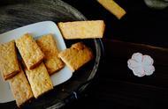 咸蛋黄饼干—咸香、酥脆,好吃没的说