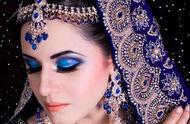 异域风情的印度新娘妆,神秘美丽性感、令人陶醉,简直美爆了!
