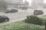 超大的冰雹