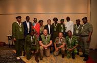马云为非洲动物保护贡献中国力量,这是非洲巡护员第一次得到奖励