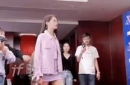 今晚浙江卫视秋季盛典上的关晓彤也太美了,淡紫色纱裙仙气飘飘