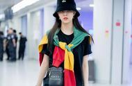 """""""时尚精灵""""宋妍霏机场穿搭了解一下,迅速掌握提升衣品秘诀"""