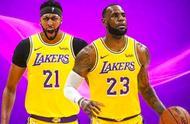 NBA尚未开赛,詹姆斯着手演练湖人两大王炸战术,大玩不看人传球