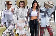 "Kendall、Bella告诉你,将""报纸""穿上身究竟有多帅"