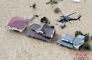 """台风""""海贝思""""肆虐日本大量房屋被淹 已致9死126人伤"""