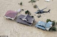 60年来罕见超强台风登陆日本后:8死13失踪