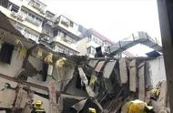 南京一公寓楼局部坍塌致2人被困 其中1人已被救出