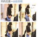 赵丽颖罕见穿露腰装现身机场,正式宣告减肥成功,少女状态回来了