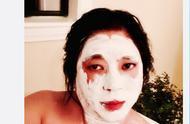 高晓松模仿小丑妆容晒,被人恶搞,画面不忍直视
