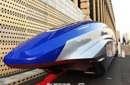 无人驾驶时速600公里高速磁悬浮真车亮相杭州
