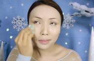 小姐姐仿妆爱莎公主妆容-精致的五官-强大的化妆术