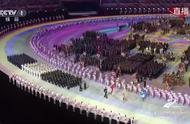 军运会中国运动员入场太震撼