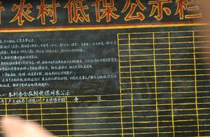 今明两年,农村清查违规低保,取消5类人资格,8种情况禁吃低保