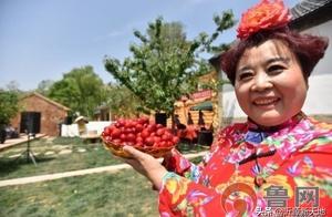 大樱桃为媒,生态沂源迎客来