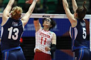 没有悬念!意大利女排3-0横扫日本女排,埃格努20分全场最高