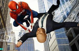 《蜘蛛侠3D游戏》蜘蛛侠终于抓住面具男,这种方式太帅气了