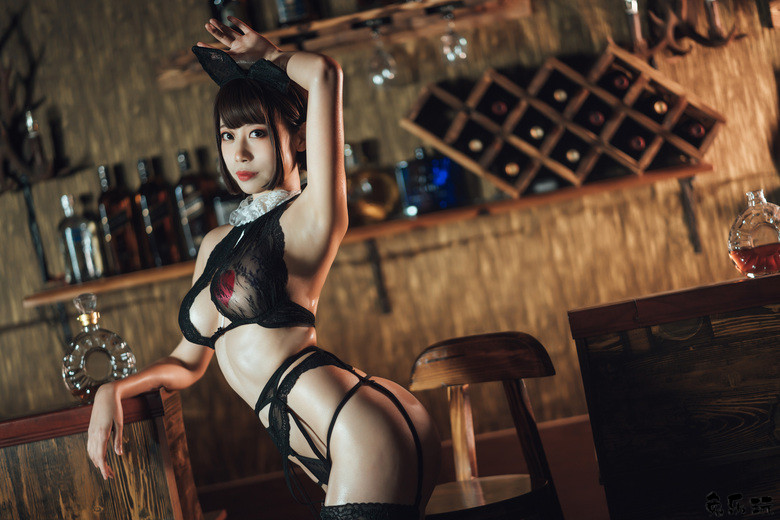 【cosplay】奈汐酱Nice图包合集精选丨酒吧老板娘